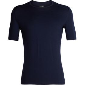 Icebreaker 200 Oasis Crew Top T-shirt Heren, midnight navy